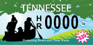 Harpeth River License Plate